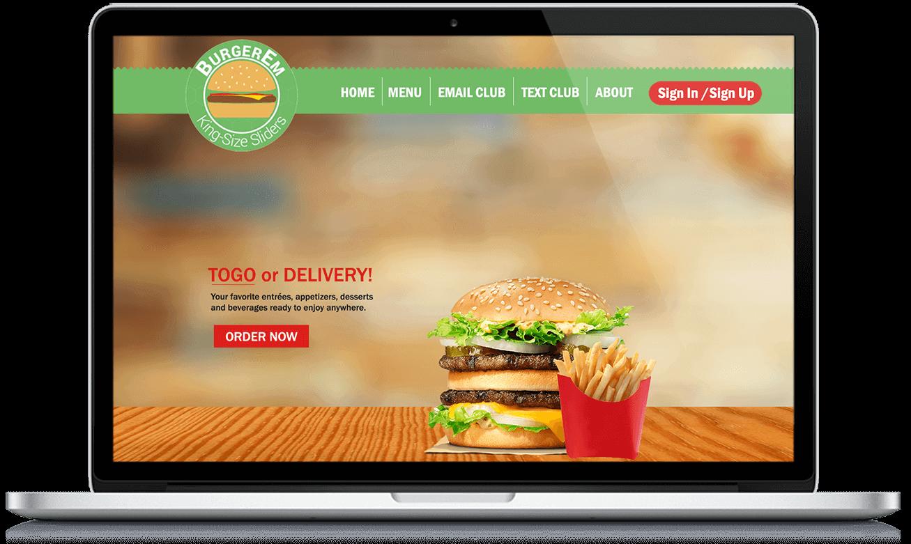 Get Your Website With Online Ordering