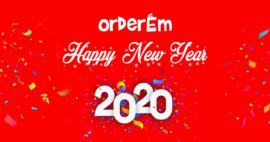 Happy New Year From OrderEm Team
